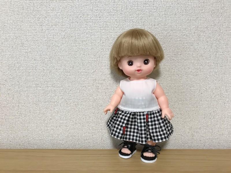 メルちゃんの洋服をハンドメイド