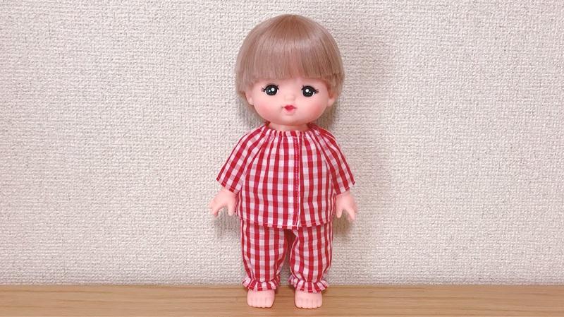 メルちゃんの手作りパジャマ