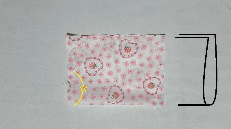 メルちゃんの枕の作り方