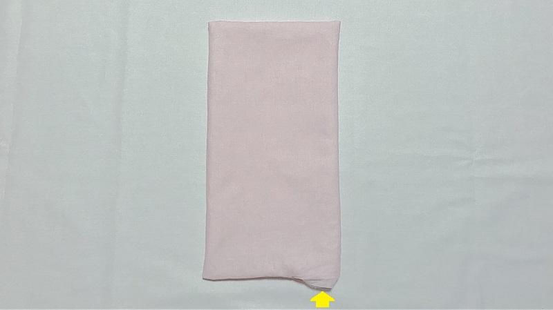 メルちゃんの敷き布団の作り方