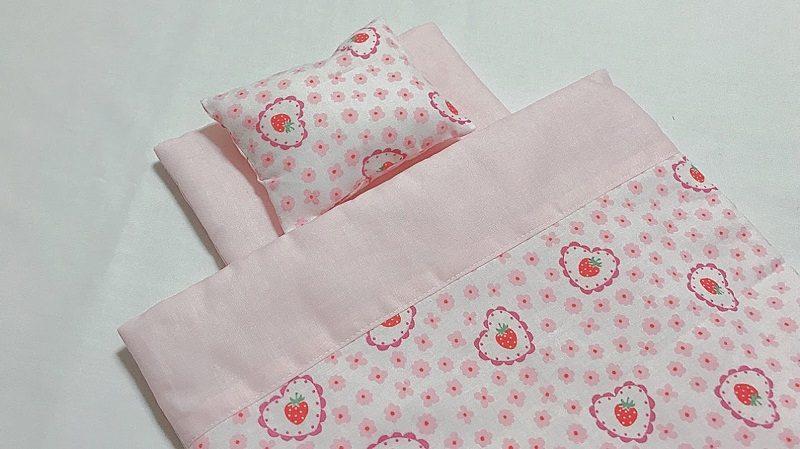 メルちゃんの手作り布団