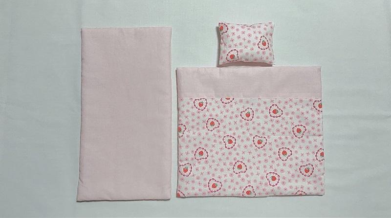 メルちゃんの布団の作り方