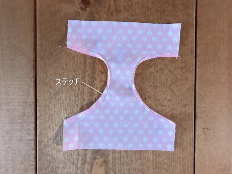 メルちゃんの下着の縫い方