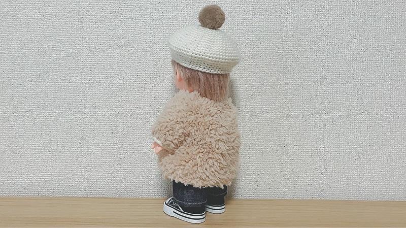 メルちゃんの手作りコート