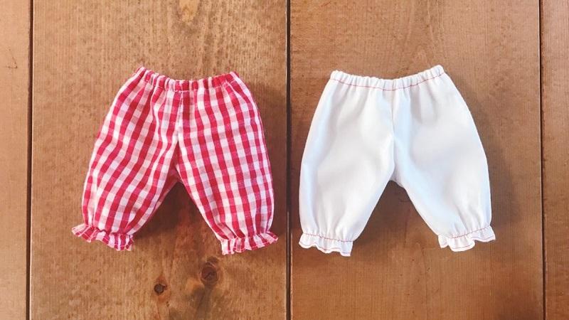 メルちゃんの手作りズボン