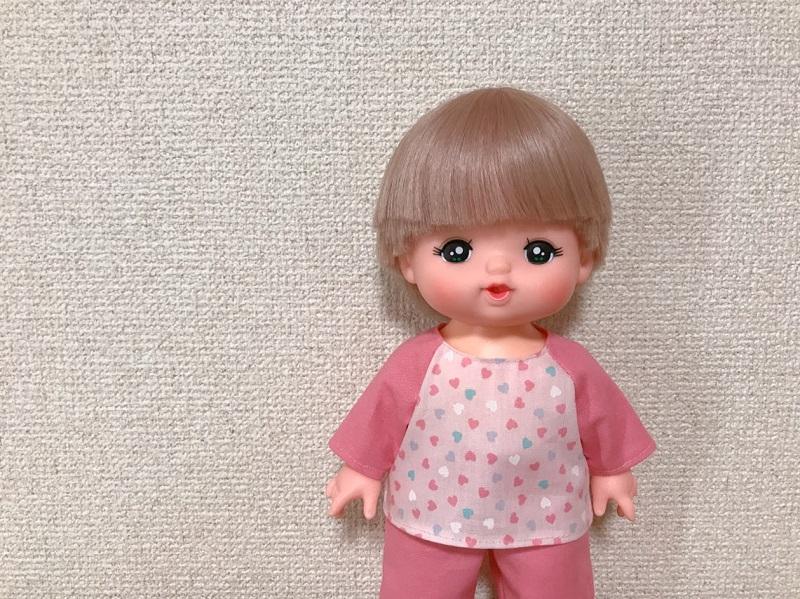 メルちゃんの簡単パジャマ