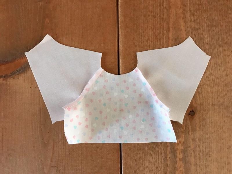 メルちゃんの簡単パジャマの作り方