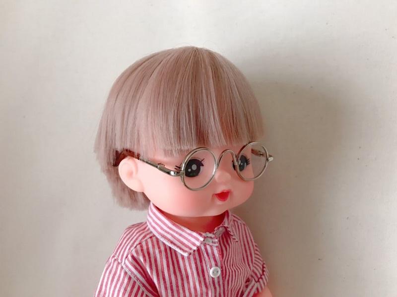 メルちゃんのメガネをネットで購入