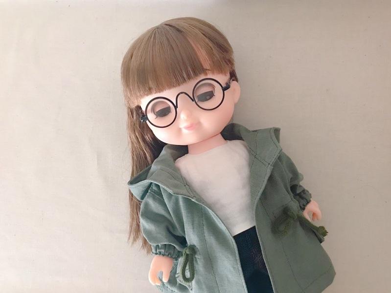 ソランちゃんのメガネ
