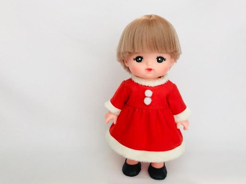 メルちゃんのクリスマスサンタ服