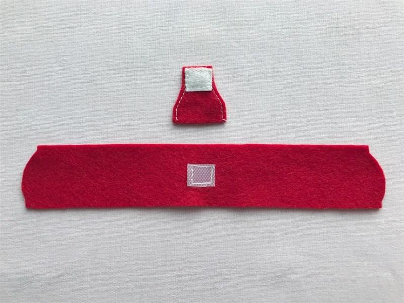 メルちゃんのランドセルの縫い方