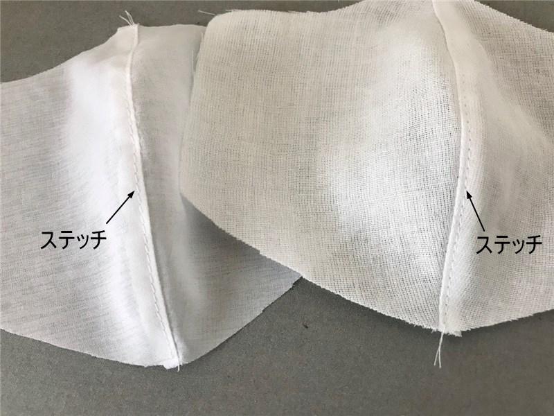 息苦しくない夏用マスクの作り方と無料型紙