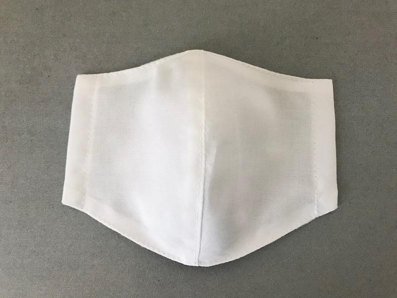 通気性の良い生地で蒸れにくい夏用マスクの作り方と無料型紙