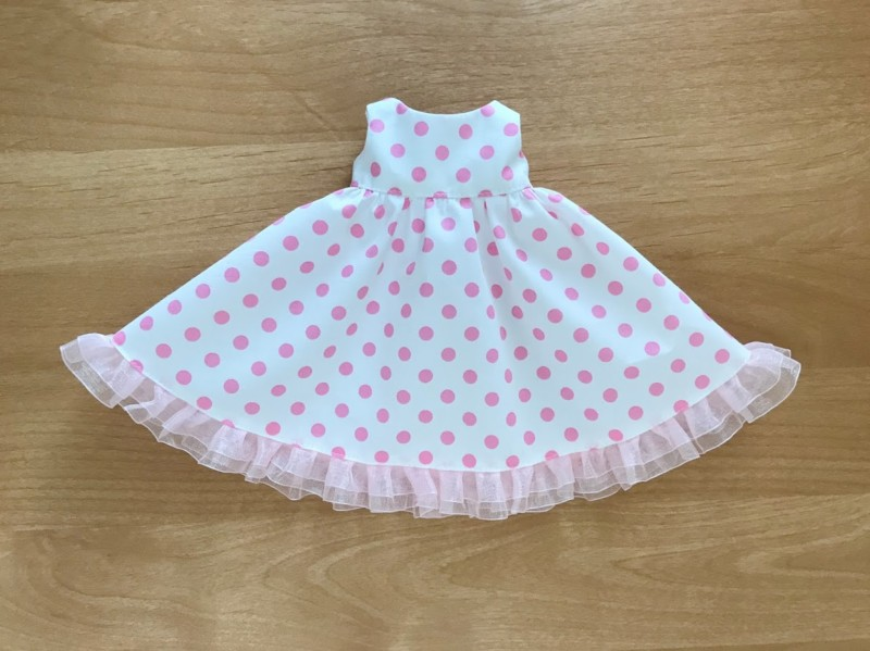 メルちゃんの手作りドレス