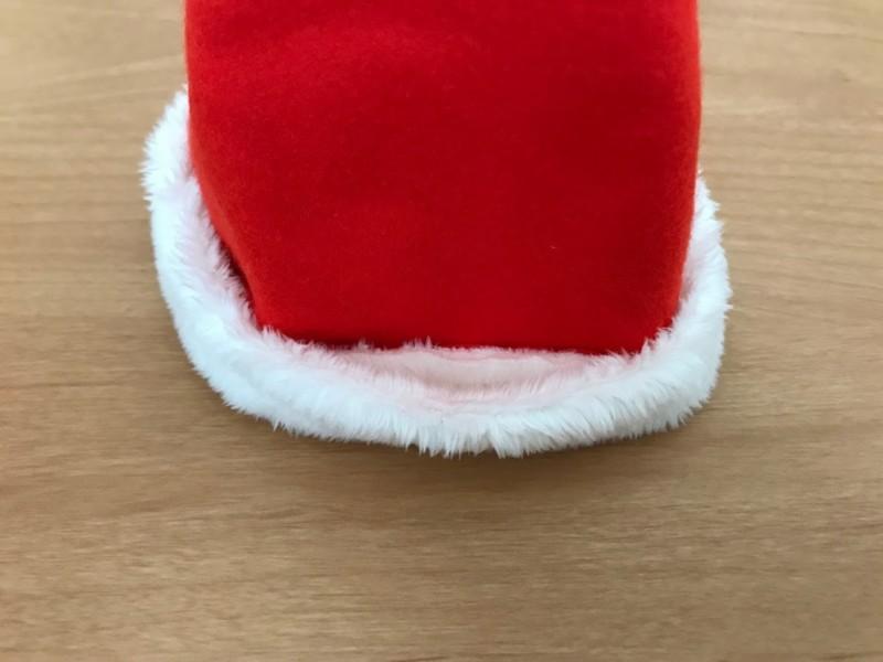 メルちゃんのサンタ帽子の縫い方