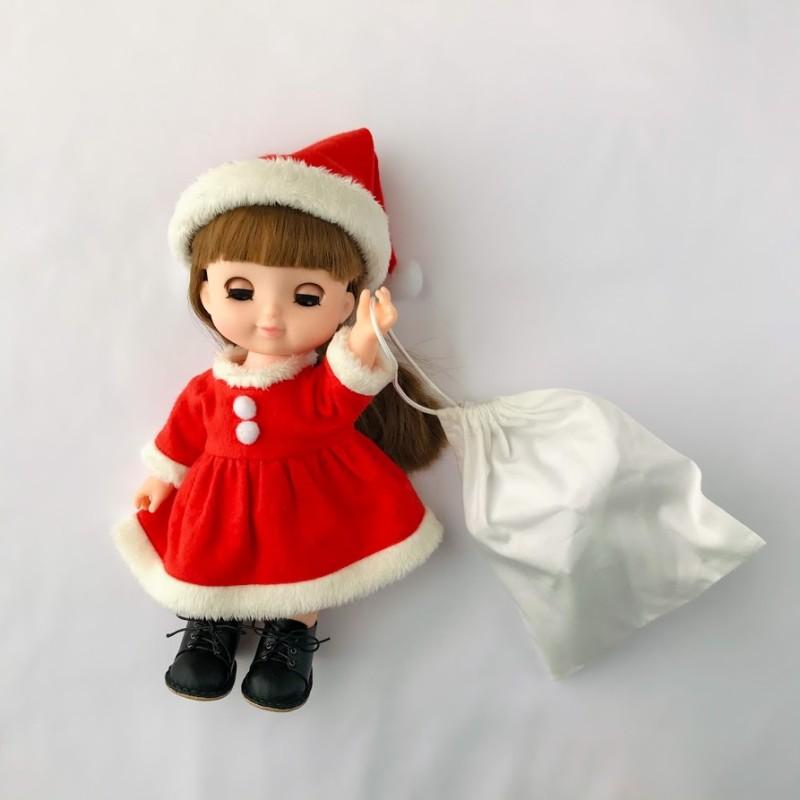 ソランちゃんのクリスマスサンタコスチューム